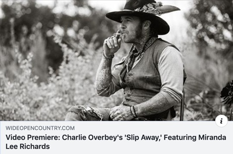 Video Premiere of 'Slip Away' at Wide Open Country